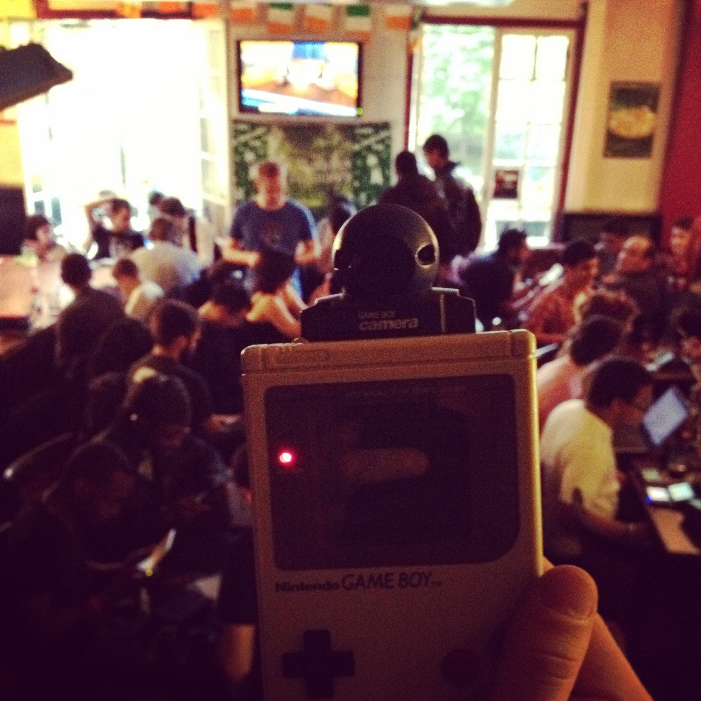 Game Boy in Paris