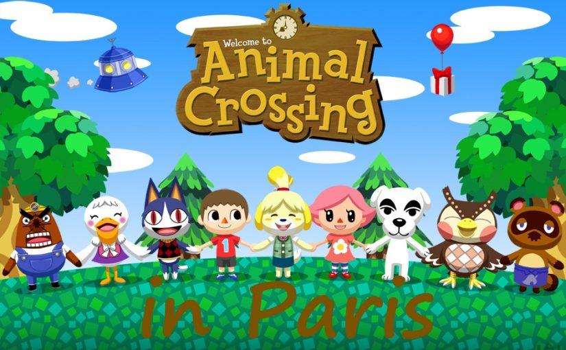 Animal Crossing in Paris