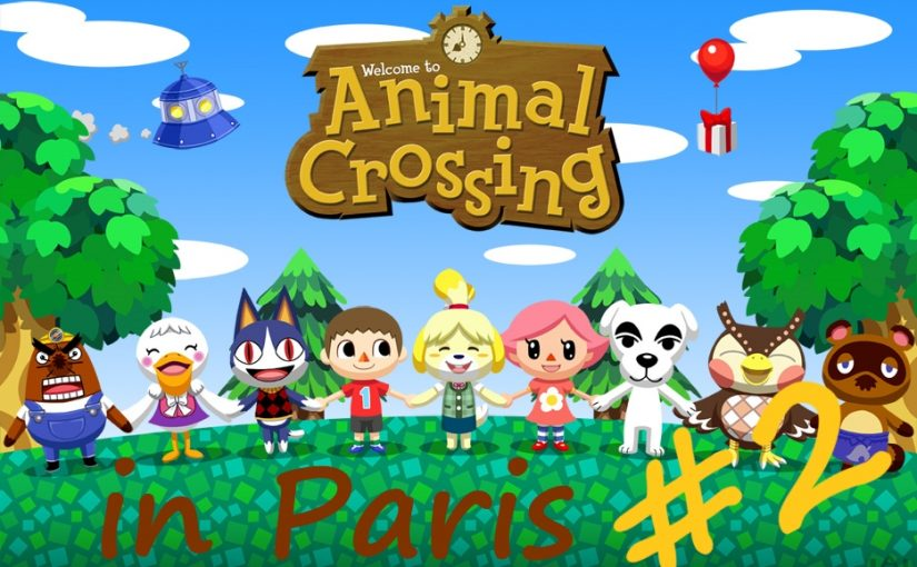 Animal Crossing in Paris #2