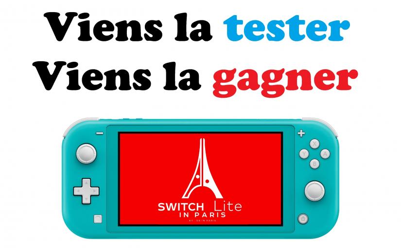 Switch Lite in Paris